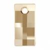 Swarovski Drop 6696 Urban 30mm Golden Shadow Crystal